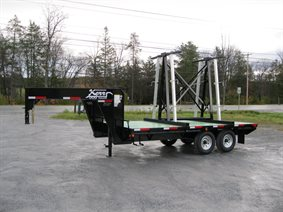 Specialized granite and marble trailer